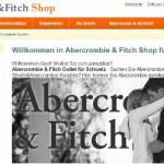 Abercrombie & Fitch online Shop Schweiz