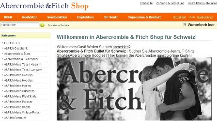 Abercrombie&Fitch online Shop