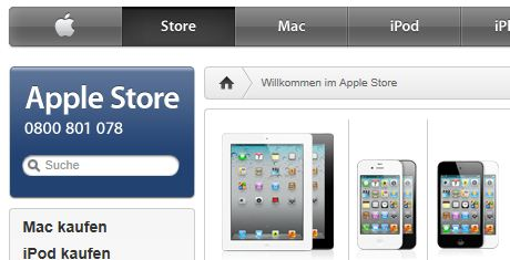 Apple online Shop