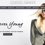 Armani online Shop Schweiz