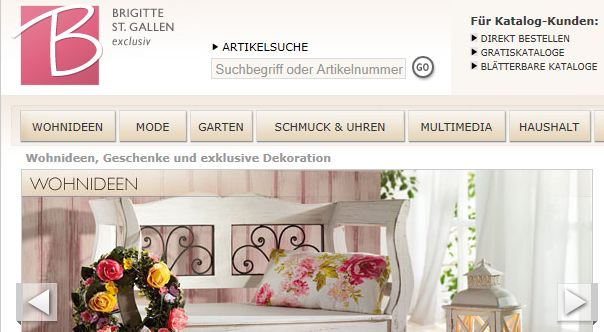 brigitte versand schweiz shop. Black Bedroom Furniture Sets. Home Design Ideas