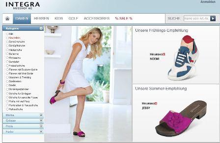 Integra online Shop