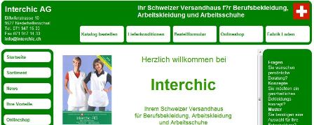 Interchic online Shop