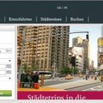 Kuoni Reisen online Shop