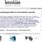 Kontaktlinsen bestellen – lensvision.ch