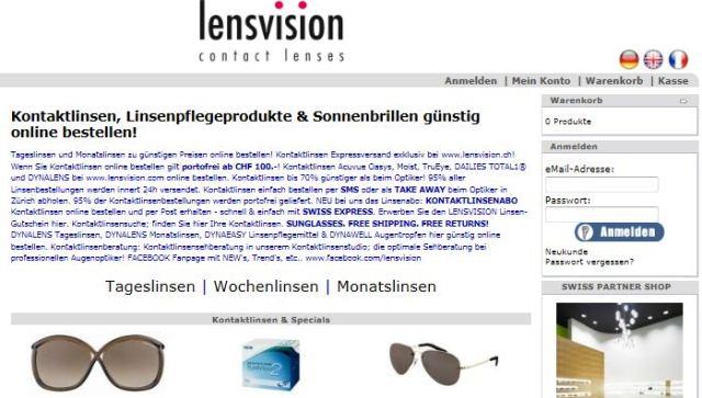 Lensvision online