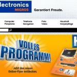 melectronics Migros online Shop
