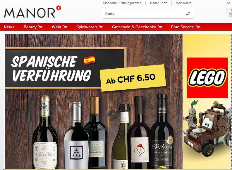 Manor online Shop