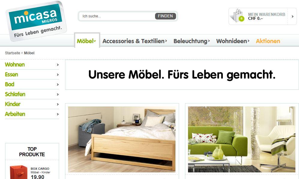 micasa m bel online shop shop. Black Bedroom Furniture Sets. Home Design Ideas