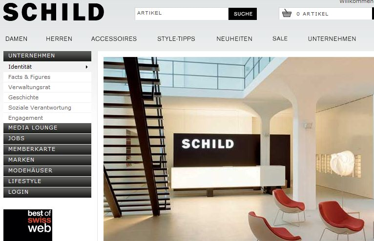 schild mode online shop shop. Black Bedroom Furniture Sets. Home Design Ideas