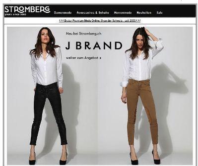 timeless design 9daa8 fe4c5 Marken Mode online Shop Schweiz – Stromberg – Shop-finden.ch