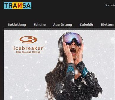 Transa online Shop