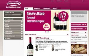 Wein online Shop Denner Wineshop.ch
