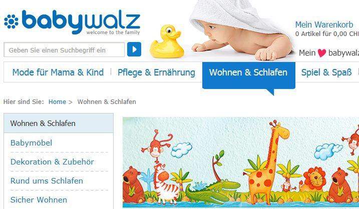 babywalz online Shop