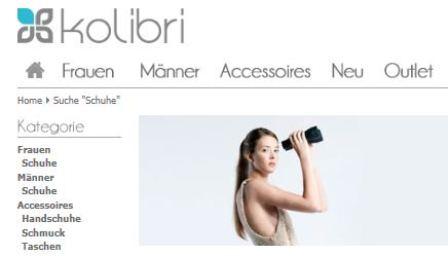 kolibri online Shop