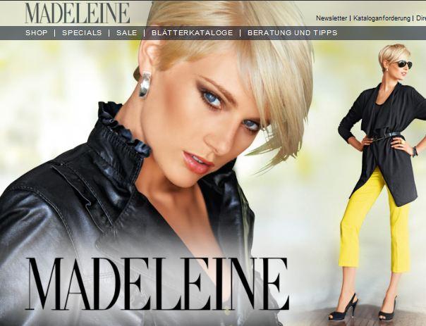 madeleine online Shop Schweiz