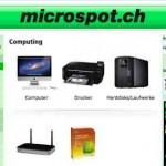 microspot.ch online Shop