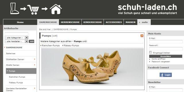 schuh-laden online Shop