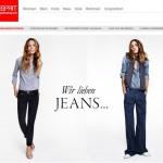 Esprit online Shop Schweiz