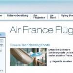 Air France online buchen