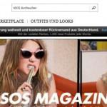 asos online Shop Schweiz