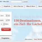 Austrian Airlines online buchen