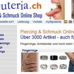Piercing Shop online Schweiz – Bijouteria