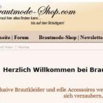Brautmode Shop Schweiz