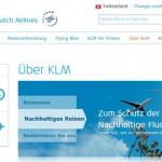 KLM Airlines online buchen
