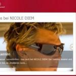 Lesebrillen online bestellen – Nicole Diem