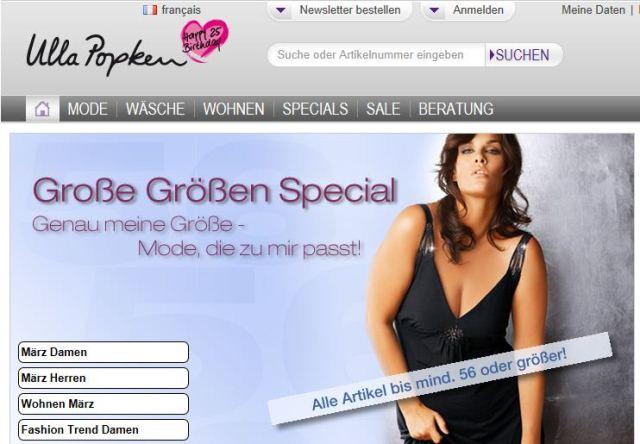 Ulla Popken online Shop