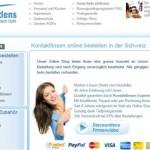 Kontaktlinsen Schweiz online bestellen – discountlens.ch