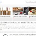 Alessi Schweiz online Shop