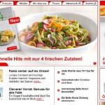 Betty Bossi online Shop