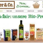 Bio online Shop – Mahler&Co.