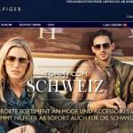 Thommy Hilfiger online Shop Schweiz