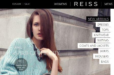 hot sale online b74a5 e9df3 Mode online Shop – Reiss – Shop-finden.ch