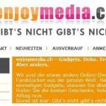 Wohnaccessoires online Shop – enjoymedia.ch