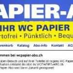 WC Papier Abo – Schweiz