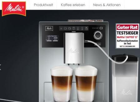 melitta kaffee online shop shop. Black Bedroom Furniture Sets. Home Design Ideas