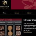 Schweizer Schokolade online Shop – Selection Chocolatiers