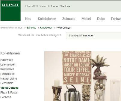 Depot Online Shop Schweiz Shop Findench