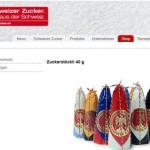 Schweizer Zucker online Shop