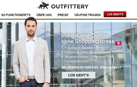 Outfittery Online Shop