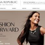 Banana Republic online Shop – Schweiz