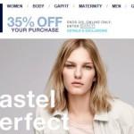 GAP online Shop – Schweiz