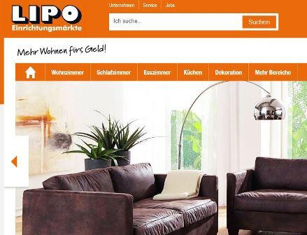 Lipo Möbel online Shop