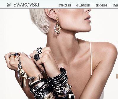 Swarovski online Shop Schweiz