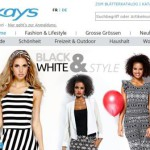 kays online Shop – Schweiz