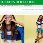 Benetton online Shop Schweiz
